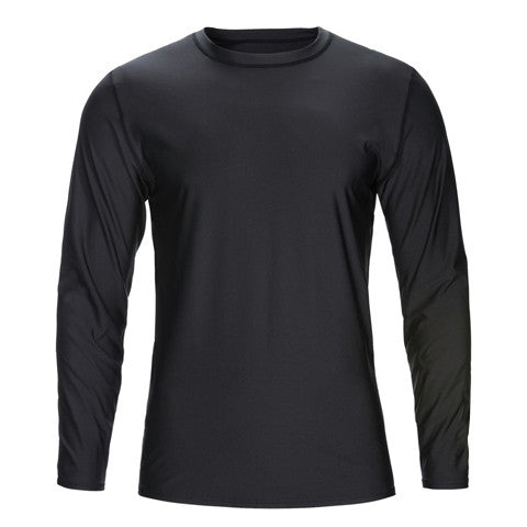 Blank Long Sleeve Paddle Jersey - Available in Black or White