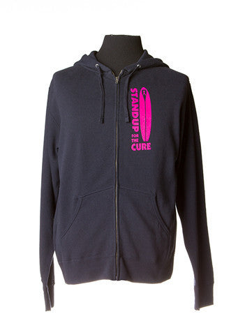 Men's Standup for the Cure Zip Hooded Sweatshirt