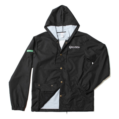 Water Resistant Embroidered Windbreaker