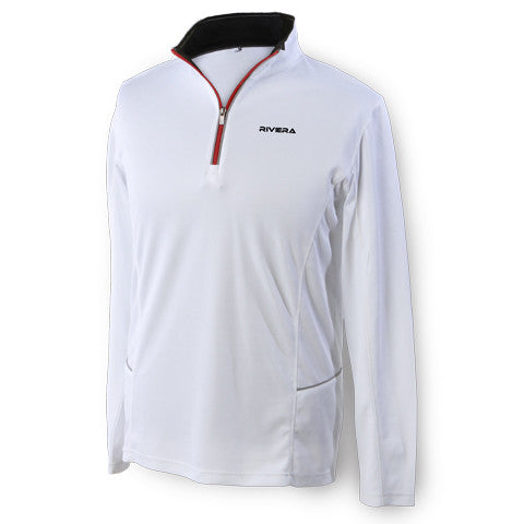 1/4 Zip Riviera Paddlesurf Training Jacket in Color White