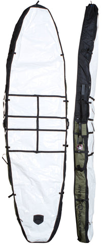 Riviera Paddlesurf SUP Board Bags - 8'6 through 12' in Army/Black
