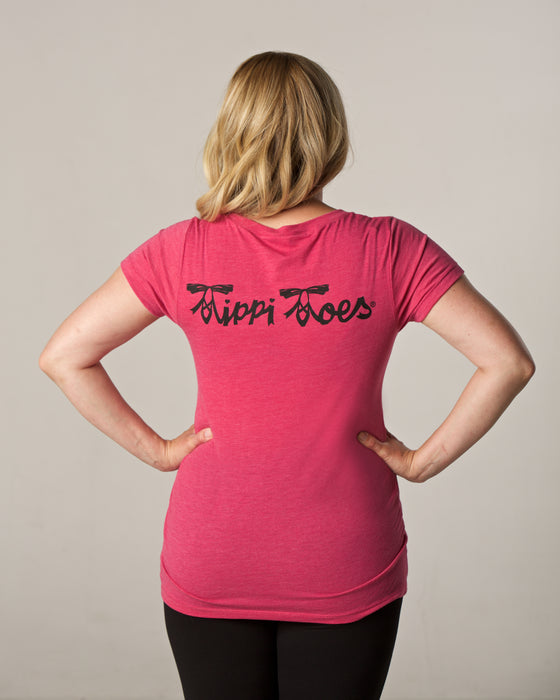 Tippi Toes® Capped Sleeve Tee