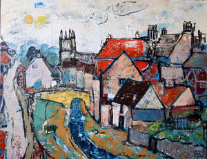 Castlegate Helmsley by artist Steve Williams