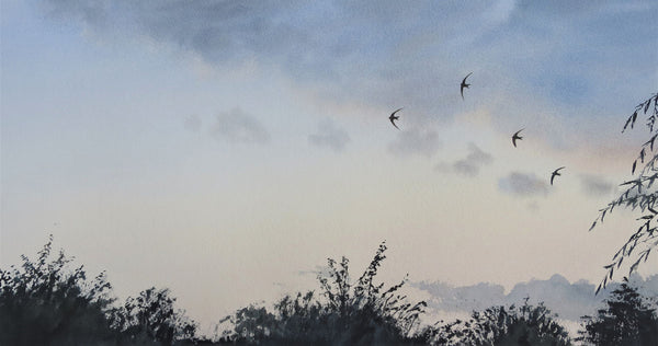 Swifts over the Garden, Gilling East