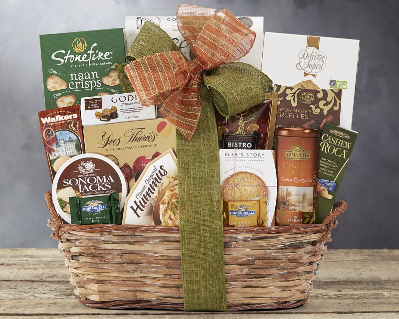 Olive Drab The Grand Gourmet Gift Basket by Wine Country Gift Baskets Default Title