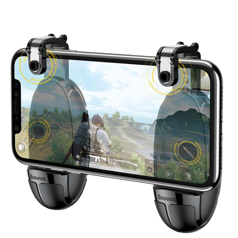 Gray Baseus Gamepad For PUBG Mobile Black,Army Green