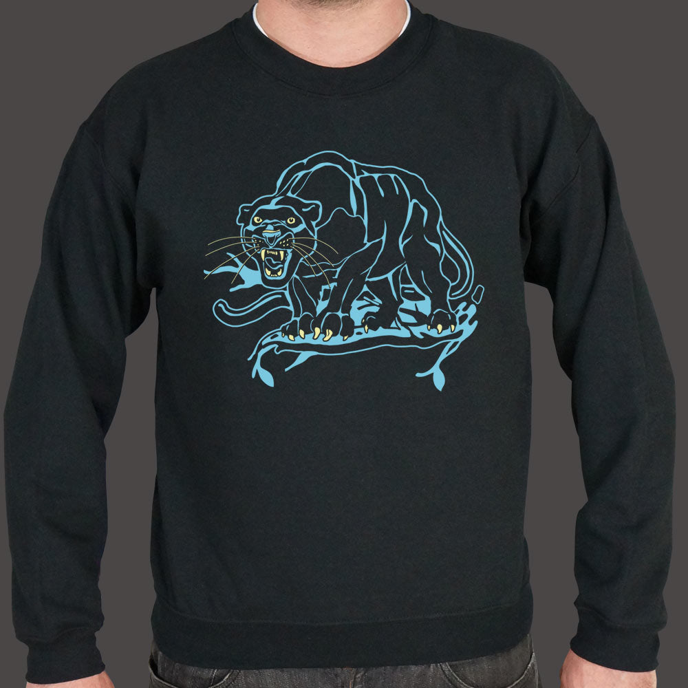 Dark Slate Gray Black Panther Sweater (Mens) Small / Black,Medium / Black,2X-Large / Black,Large / Black,X-Large / Black,3X-Large / Black