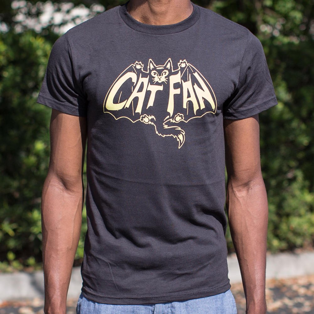 Dark Slate Gray Cat Fan T-Shirt (Mens) Small / Black,Medium / Black,Large / Black,X-Large / Black,2X-Large / Black,3X-Large / Black,Small / Kelly Green,Medium / Kelly Green,Large / Kelly Green,X-Large / Kelly Green,2X-Large / Kelly Green,3X-Large / Kelly Green,Small / Royal Heather,Medium / Royal Heather,Large / Royal Heather,X-Large / Royal Heather,2X-Large / Royal Heather,3X-Large / Royal Heather,Small / Brown Heather,Medium / Brown Heather,Large / Brown Heather,X-Large / Brown Heather,2X-Large / Brown He