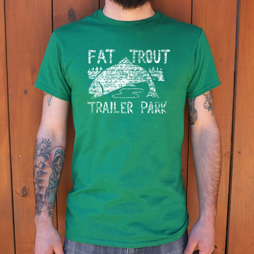 Fat Trout Trailer Park T-Shirt (Mens)-Mens T-Shirt-THATSMYGEEK