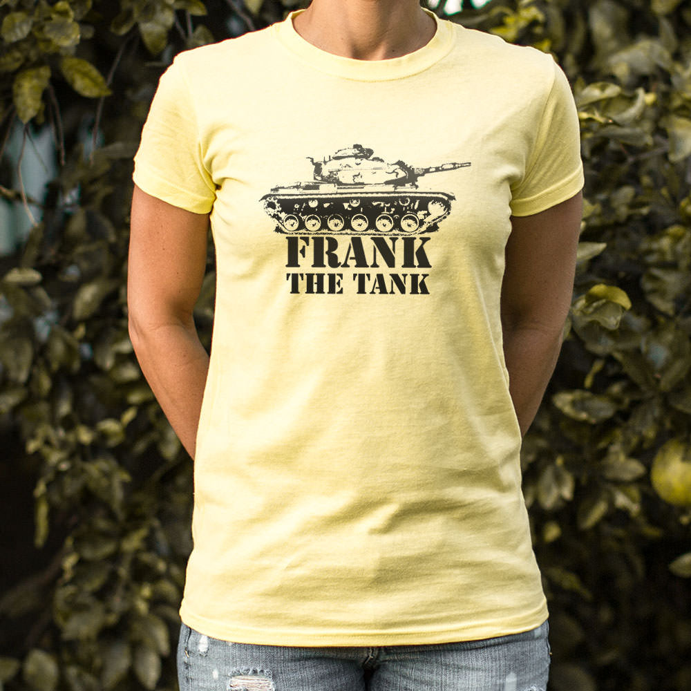 Pale Goldenrod Frank The Tank T-Shirt (Ladies) Small / Deep Red,Medium / Deep Red,Large / Deep Red,X-Large / Deep Red,Small / Lucky Green,Medium / Lucky Green,Large / Lucky Green,X-Large / Lucky Green,Small / Gray Granite,Medium / Gray Granite,Large / Gray Granite,X-Large / Gray Granite,Small / Soft Pink,Medium / Soft Pink,Large / Soft Pink,X-Large / Soft Pink,Small / Sky Blue,Medium / Sky Blue,Large / Sky Blue,X-Large / Sky Blue,Small / Snow,Medium / Snow,Large / Snow,X-Large / Snow
