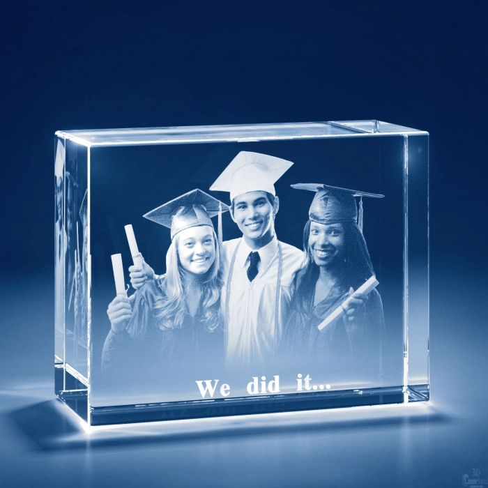 Midnight Blue Personalized Custom Photo Crystals Featuring 3D Glass Pictures Bricks Small,Medium +$20,Large +$100,XLarge +$180,XXLarge +$280,3XLarge +$590,4XLarge +$820,5XLarge +$1250