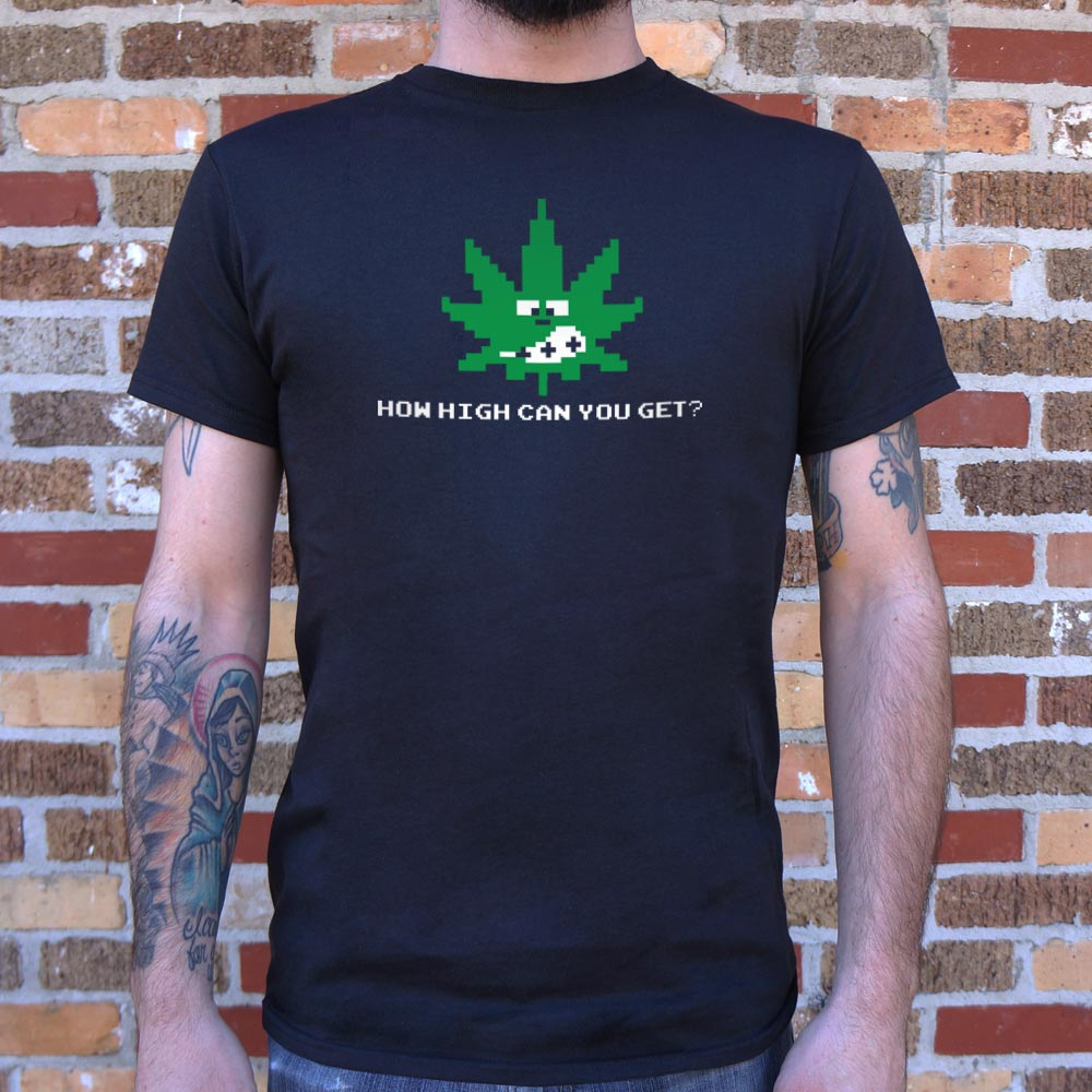 How High Can You Get? T-Shirt (Mens)-Mens T-Shirt-THATSMYGEEK