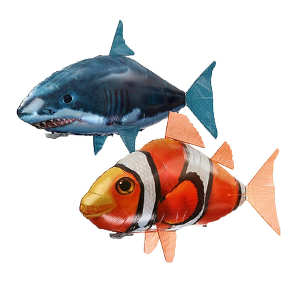 Chocolate RC Air Swimmers Shark & Goldfish Shark / China,Clownfish / China