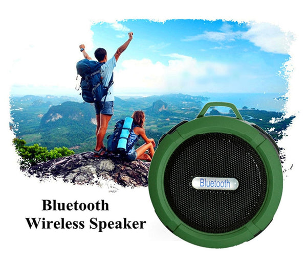 Steel Blue Portable Bluetooth Outdoor Wireless Speaker Subwoofer Black,White,Blue,Red,Army Green