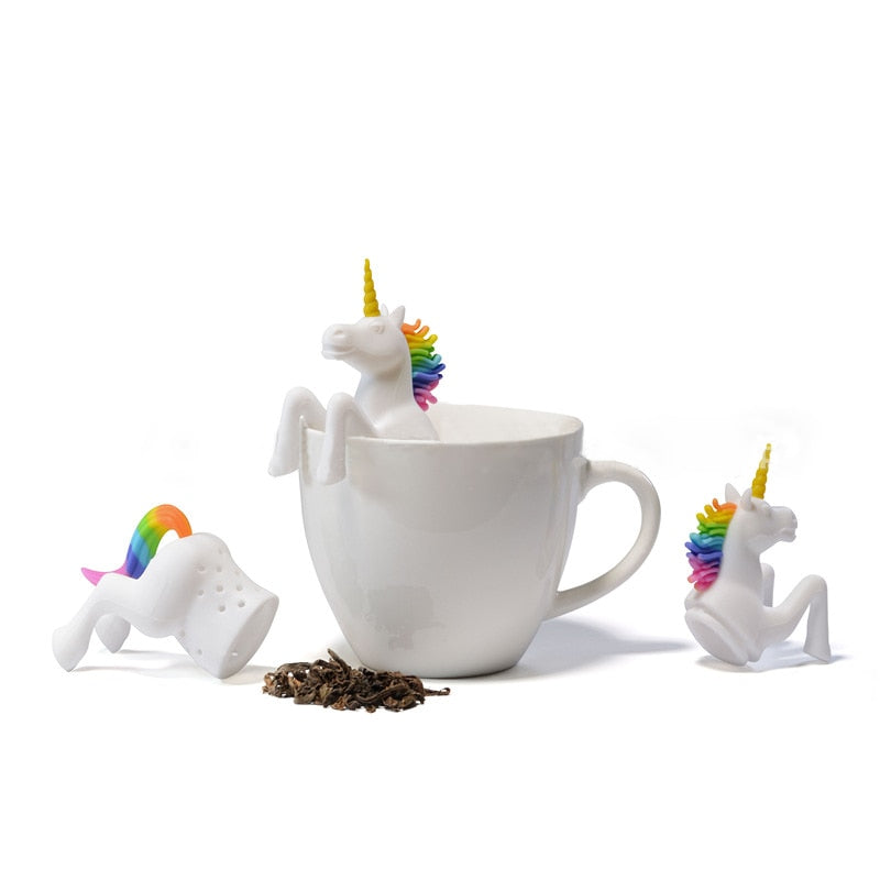 Gray Unicorn Tea Infuser Default Title