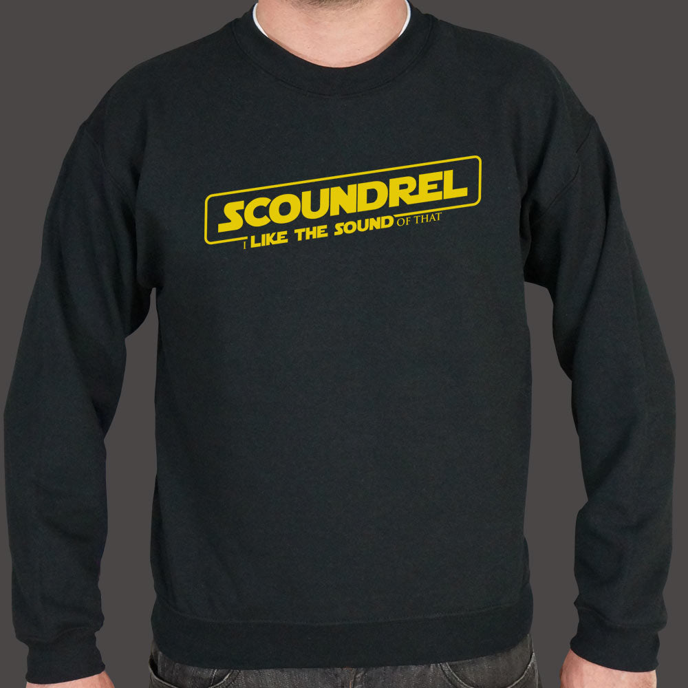 Dark Slate Gray Scoundrel I Like The Sound Of That Sweater (Mens) Small / Black,Medium / Black,2X-Large / Black,Large / Black,X-Large / Black,3X-Large / Black