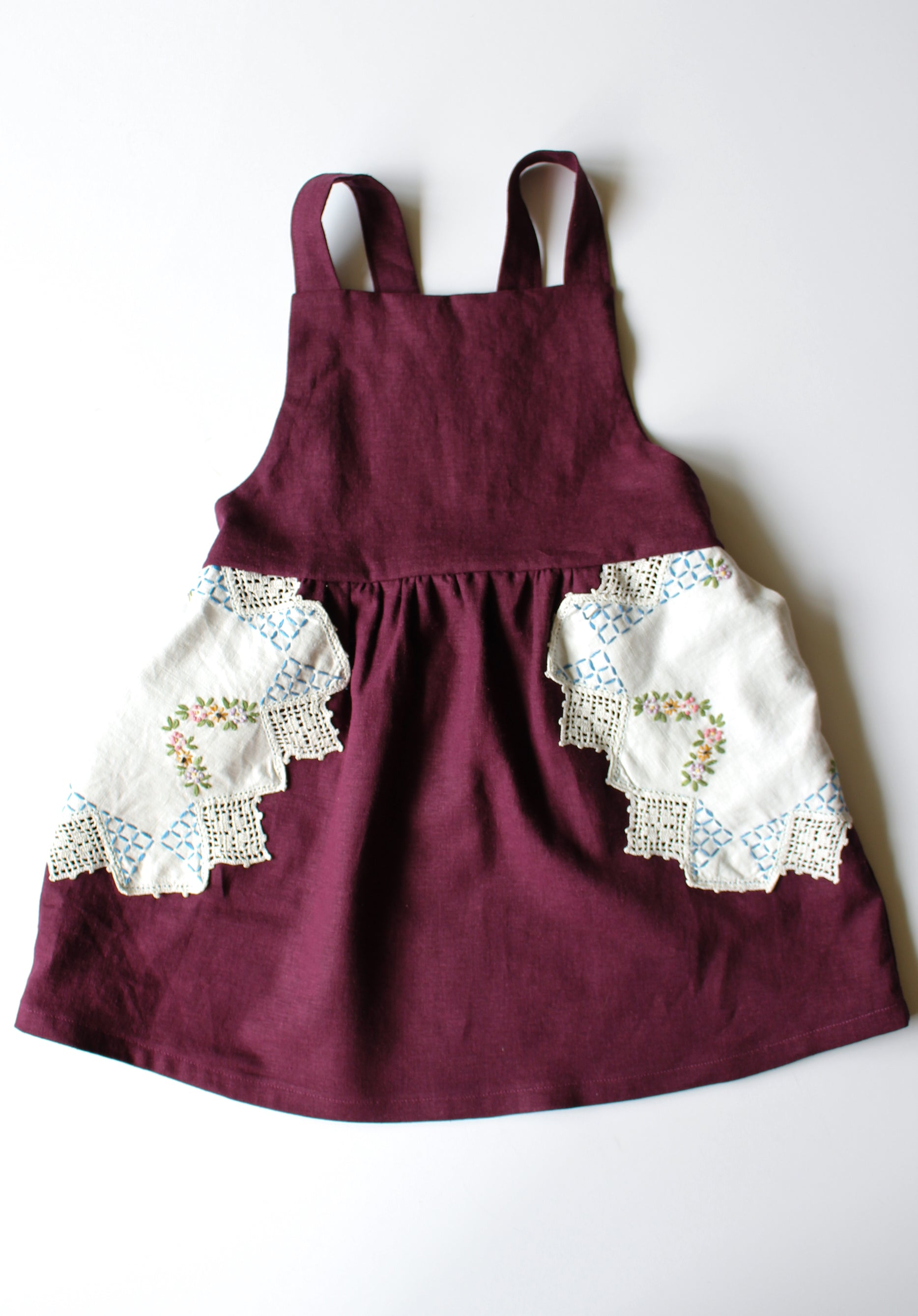 Embroidered Pocket Pinny +$5