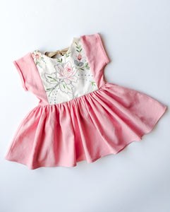 Peplum Top (partial embroidery) + $40