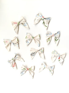 Vintage Embroidered Bows