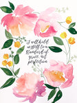 "Watercolor ""Standard of Grace"" Floral Digital Download"