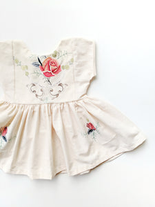 Peplum Top (full embroidery) + $35