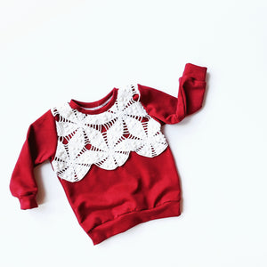 Ready-to-Ship Sweatshirt- Size 12/18 Months