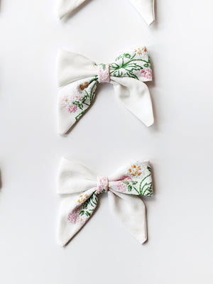 Embroidered Bows