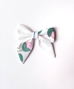 Embroidered Bow