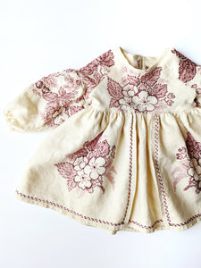 """Prairie"" dress (full embroidery) +$65"
