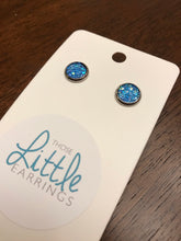 Load image into Gallery viewer, Darling Druzy Studs - Sky Blue