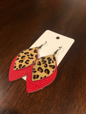 Leopard Red Double