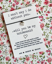 Will you be my Bridesmaid Wish String