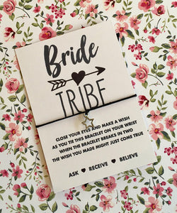 Bride Tribe Wish Bracelet