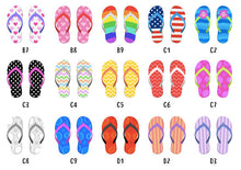 Personalised Family Flip Flop Print