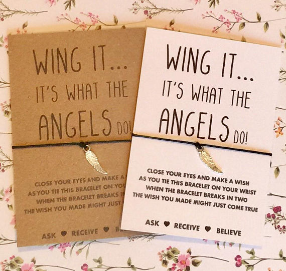 angel wing wish string