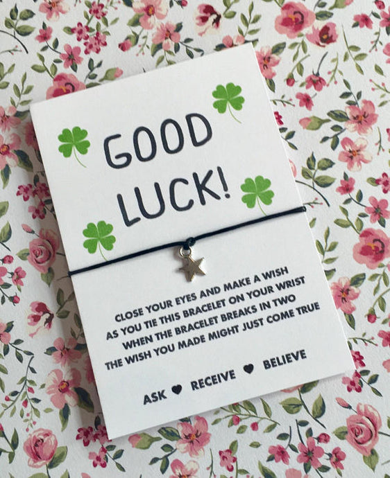 Good luck wish string