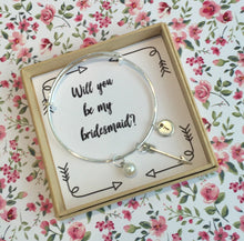 will you be my bridesmaid bracelet
