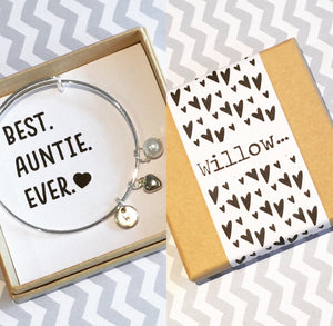 auntie charm bangle