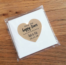 happy tears wedding favours