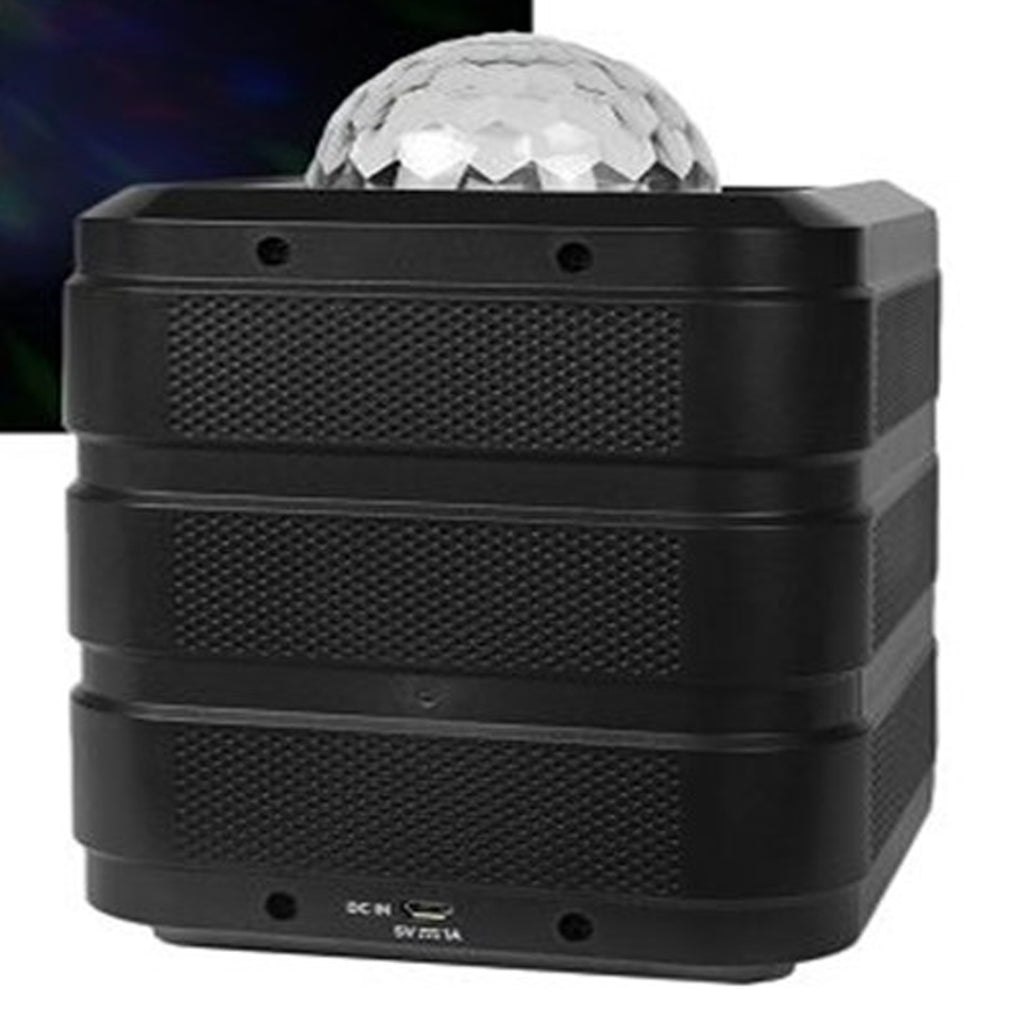 Ion ISP86 Insta Party Rechargeable Bluetooth Wireless Speaker with Dome and Grille Disco Party Lights
