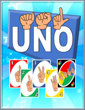 ASL Uno Style Card Game
