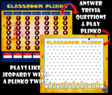 Jumbo Sized Plinko Template-Add Your Own Questions