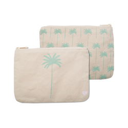 "Cameron Hawaii - Large Clutch ""Coco Palm / Coco Tree Allover"""