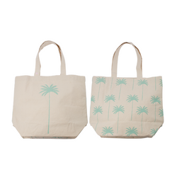 Coco Palm / Coconut Tree All Over - Beach Bag