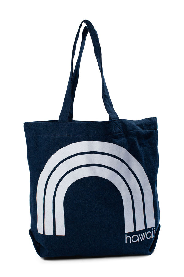 Kawaii Hawaii - Beach Bag - Dark Wash Denim