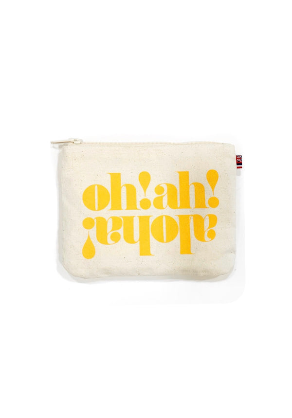 OH! AH! ALOHA - Small Clutch-Honey