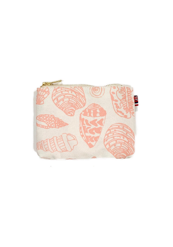 Shell Treasure -Coin Purse- Tropical Pink