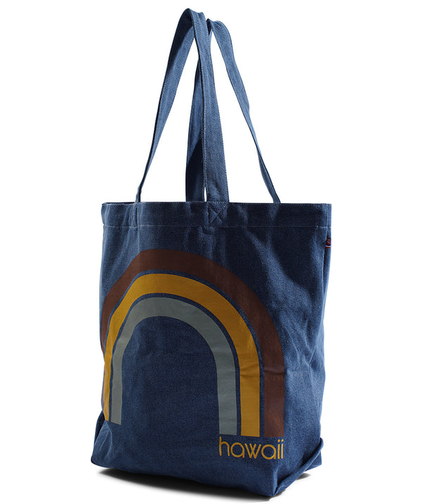 Kawaii Hawaii - Beach Bag - Light Wash Denim