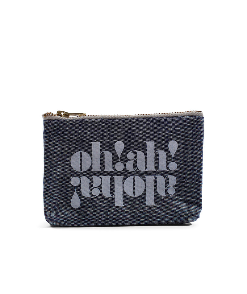 Made In Hawaii - Oh! Ah! Aloha! - Coin Purse - Light Wash