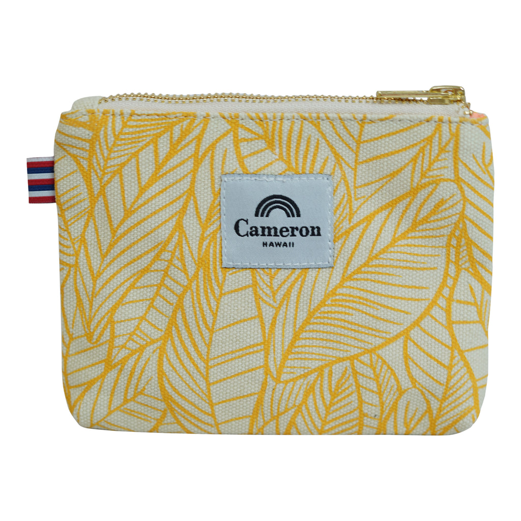 Banana Leaves - Coin Purse - Lemon